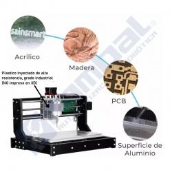 CNC 3018 PRO Kit Fresadora Talladora Rambal Chile