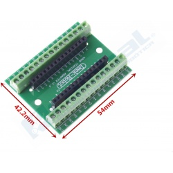 Adaptador de terminal para Arduino Nano