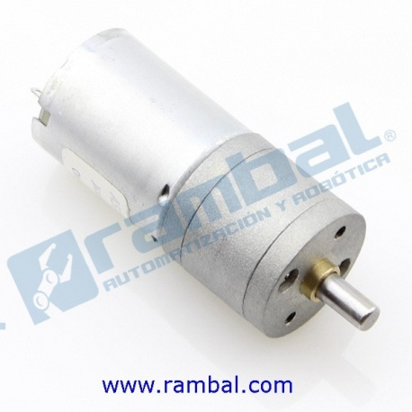 Motor DC Engranaje Alto Torque 3-24Vdc