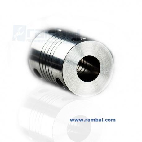 Flex Shaft Coupler Acoplamiento 5x8 mm.