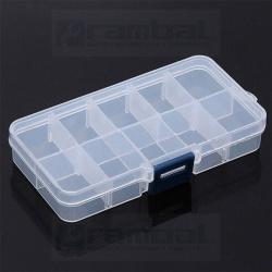 Caja Organizadora Plástica – Plastic Box 10 Grid 130x65x23mm