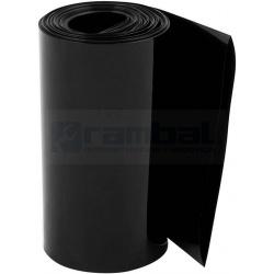Tubo Termoretráctil 2:1 80mmx1m negro