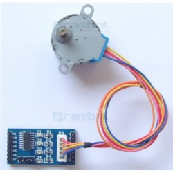 Kit Motor Stepper Reductor 1:60 28BYJ-48 + Control-2 ULN2003