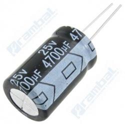 Condensador electrolítico 4.700uF 25V