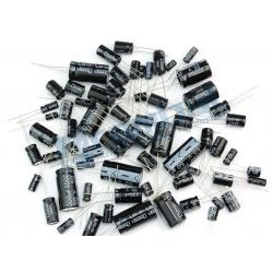 Kit 120 Condensadores Electrolíticos.