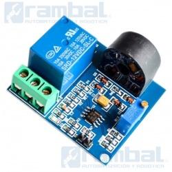 Modulo sensor de corriente alterna 5A, 12V con relé