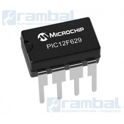 Microcontrolador PIC12F629 PDIP 8 pines
