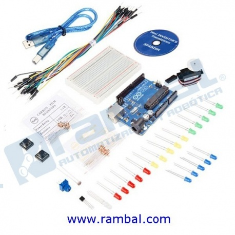 Mini Inventors kit para Arduino + CD
