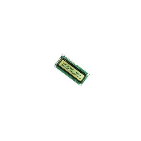 Parallax 2x16 Serial LCD (Backlit)