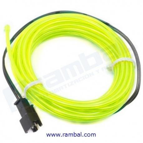 El Wire - Verde Fosforescente 2mt