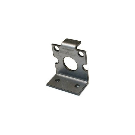Solarbotics GMB28 (GM2/GM8 Gear Motor Bracket, Laser-Cut Steel)