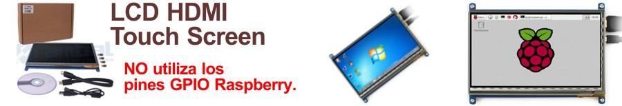 Raspberry TFT 7 in